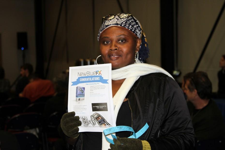 Aba Ngissah wins NewBlueFX Chroma Key.