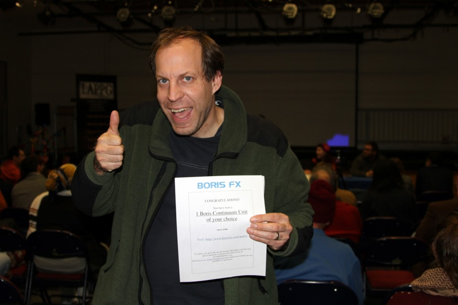 Kenneth Bahr wins a Boris FX unit of his choice!