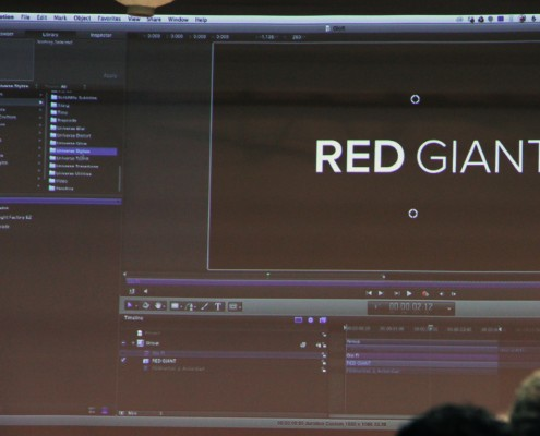 Red Giant particpated in our LAPPG Plug-in Showcase.