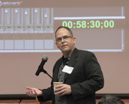 Woody Woodhall showcases Audio Ease