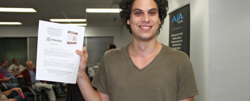 Jason Levi wins Mocha Pro V3!