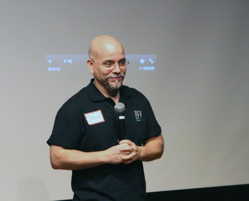 Steven Blasini introduces himself and BFX Imagesworks.