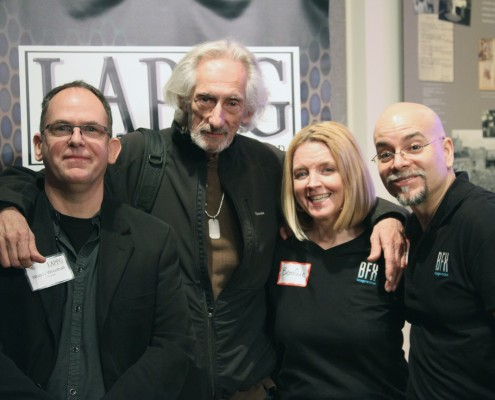 Woody Woodhall, Larry Hankin, BenniQue Blasini and Steve Blasini