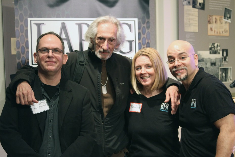 Woody Woodhall, Larry Hankin, BenniQue Blasini and Steve Blasini