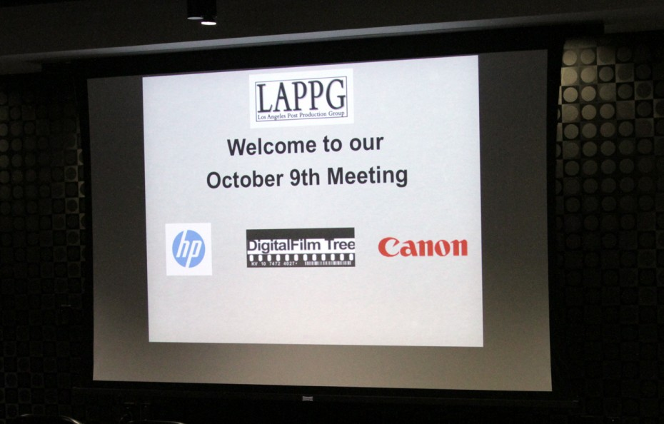 Welcome to the October meeting.