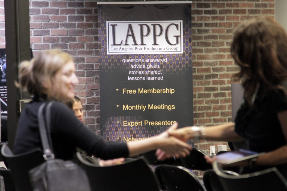 Networking at the LAPPG.