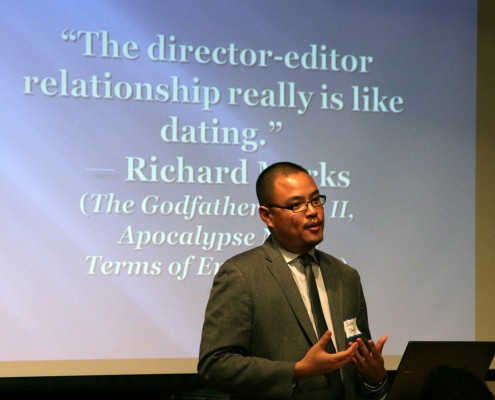 Justin Chang speaks about this Richard Marks quote.