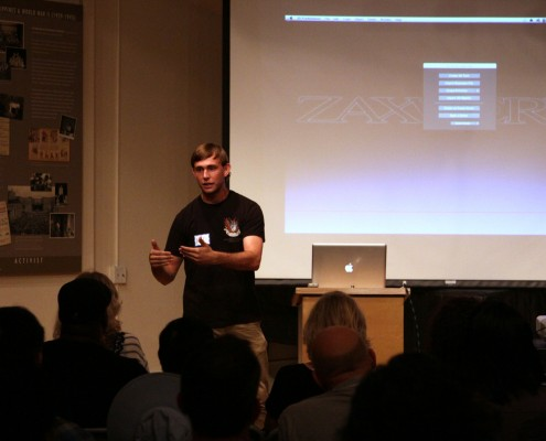 In 20 minutes Alex Dow showed us everything we needed to know about 3D Proanimator 8 and didn