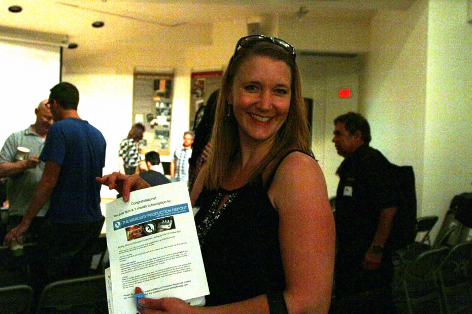 New LAPPG Member Karen Goffred wins a 1 month subscription to The Mercury Report.