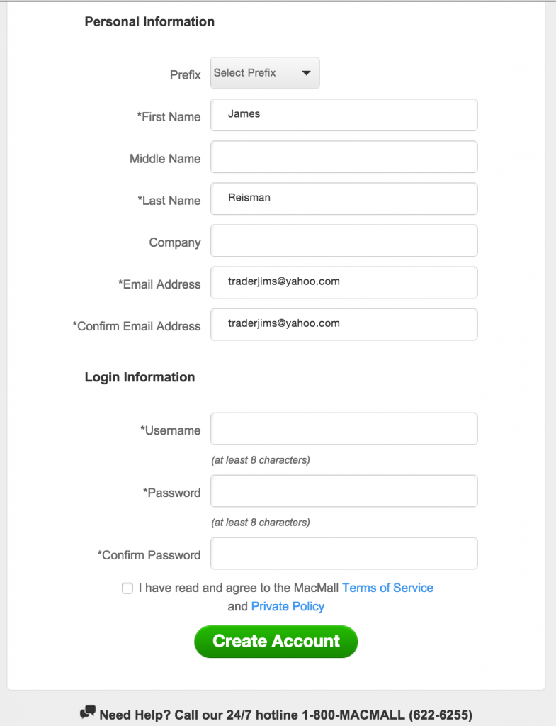 How to register on the LAPPG Member Benefits website2