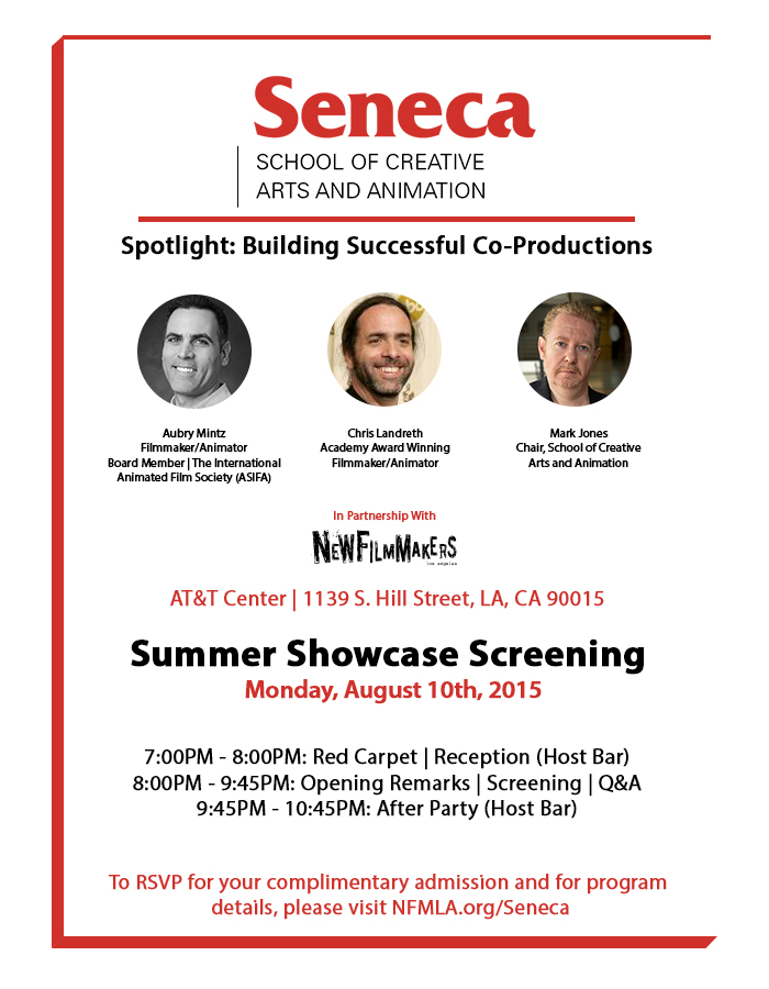 NFMLA Seneca Official Invite