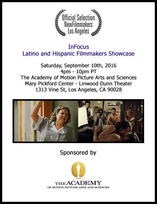 AMPAS NFMLA Latino Film Event Invite