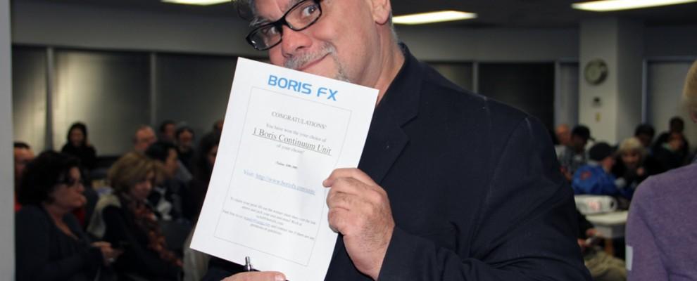 Richard Villa wins Boris Continuum Unit of his choice.