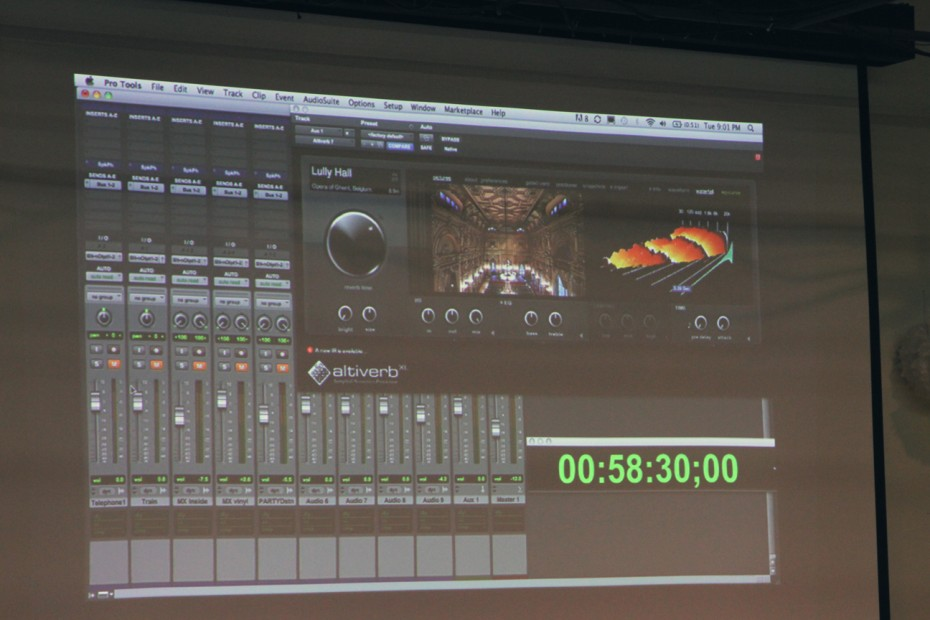Woody Woodhall shows Audio Ease