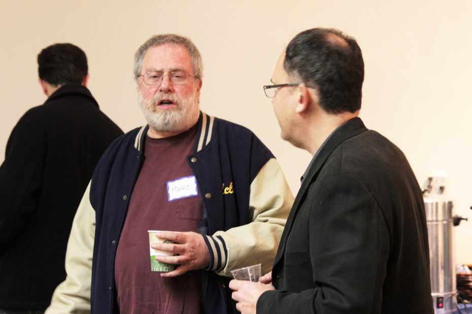 Editor Marc Grossman meets up with Woody Woodhall.