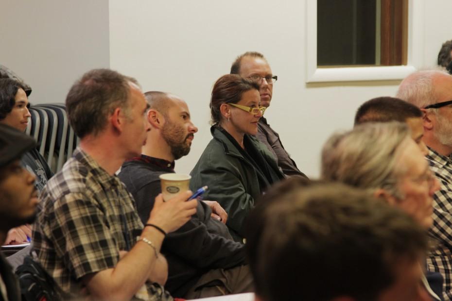LAPPG members listen to Von Thomas