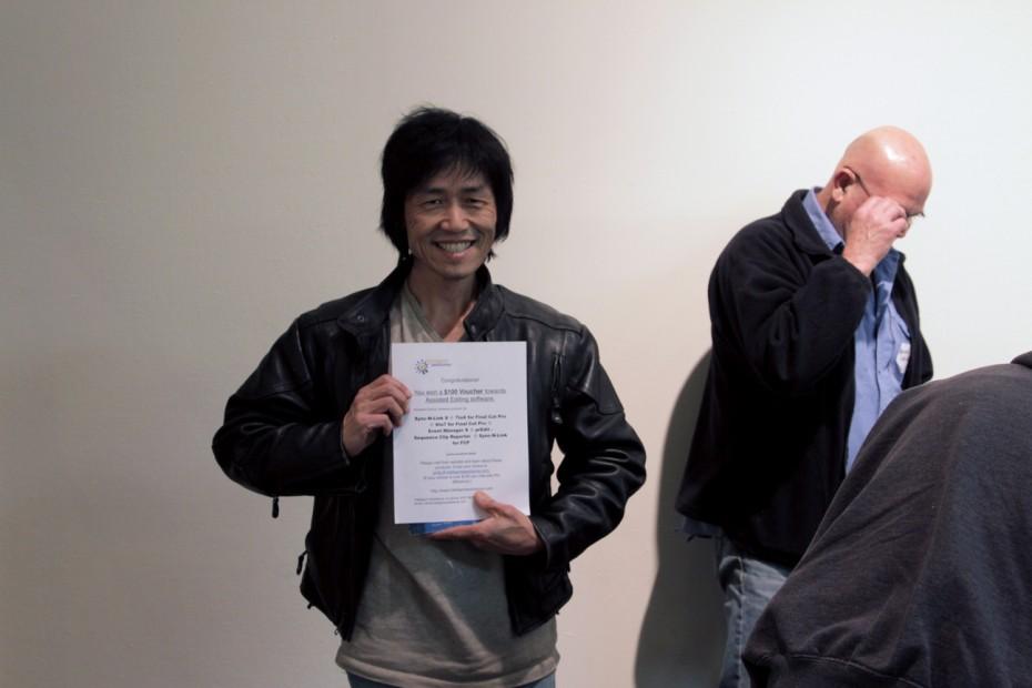David Fukumoto wins a $100 voucher from Intelligent Assistance.