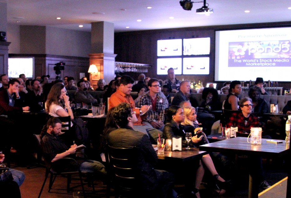 The audience get valuable insights into the world of film festivals.