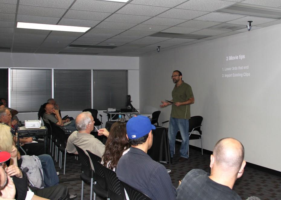 Taz Golstein shares some iMovie tips.
