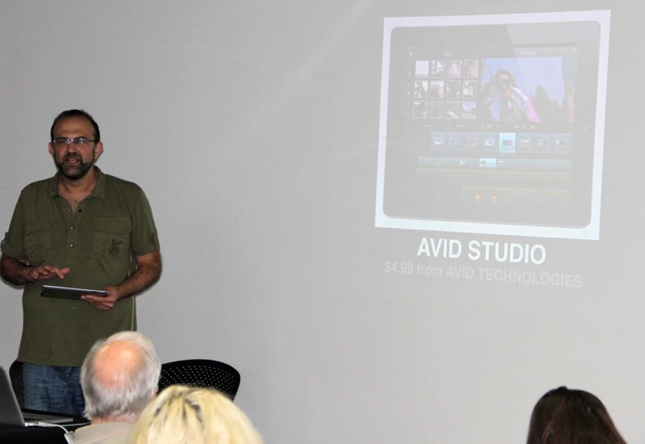 Taz Goldstein shares Avid Studio.