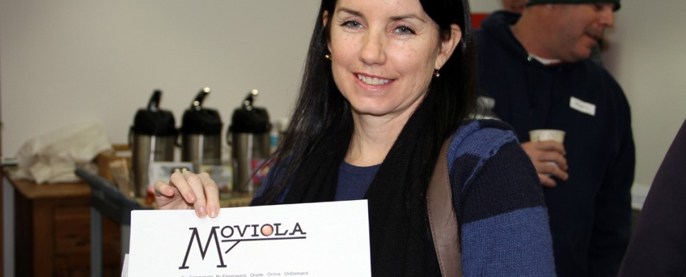 Christine Marino wins a webinar from Moviola
