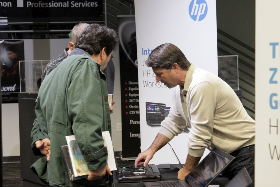 Tery Brown gives an upclose tour of HP