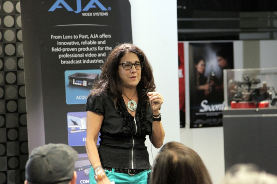 Amy Kawadler introduces the Canon Hollywood Professional Center.