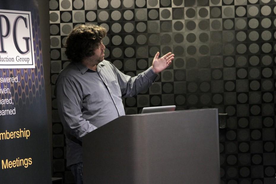 DigitalFilm Tree's CTO Guillaume Aubuchon presents