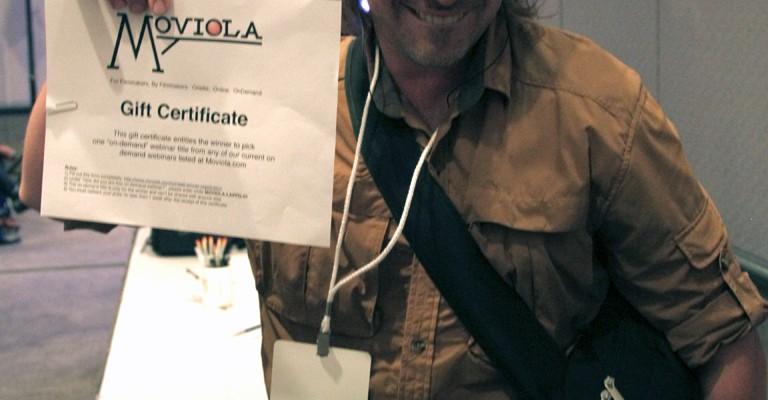Geoff Van Maarten wins a Moviola webinar!