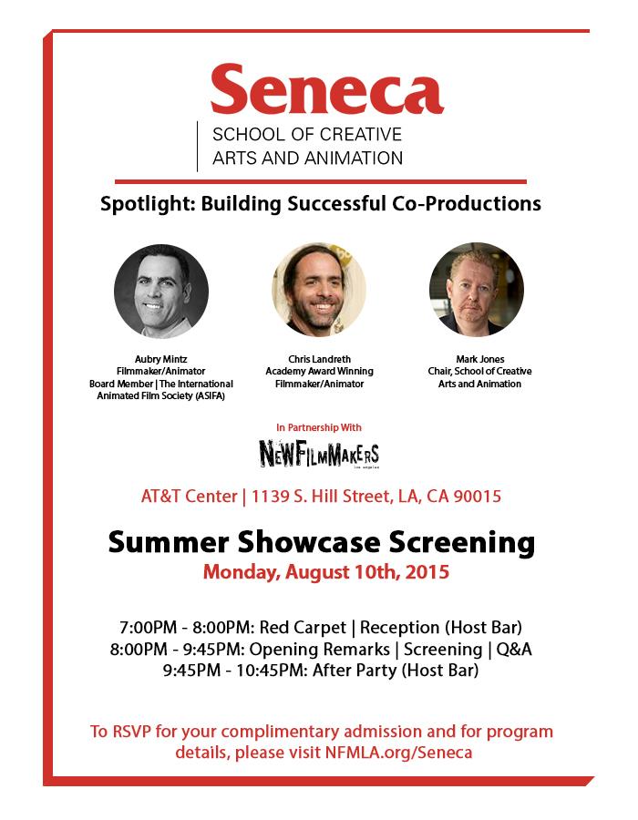 NFMLA Seneca Official Invite