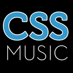 CSS music logo